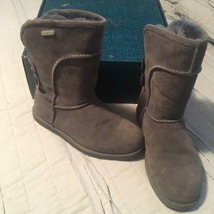 Emu grey Charlotte boots